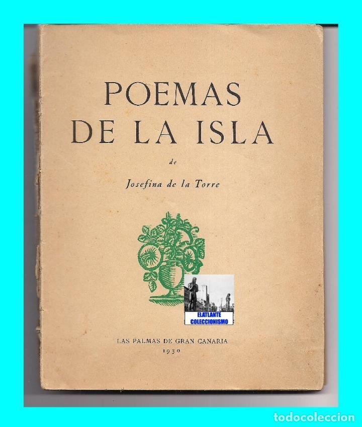 Poemas De La Isla Josefina De La Torre Primera Edición