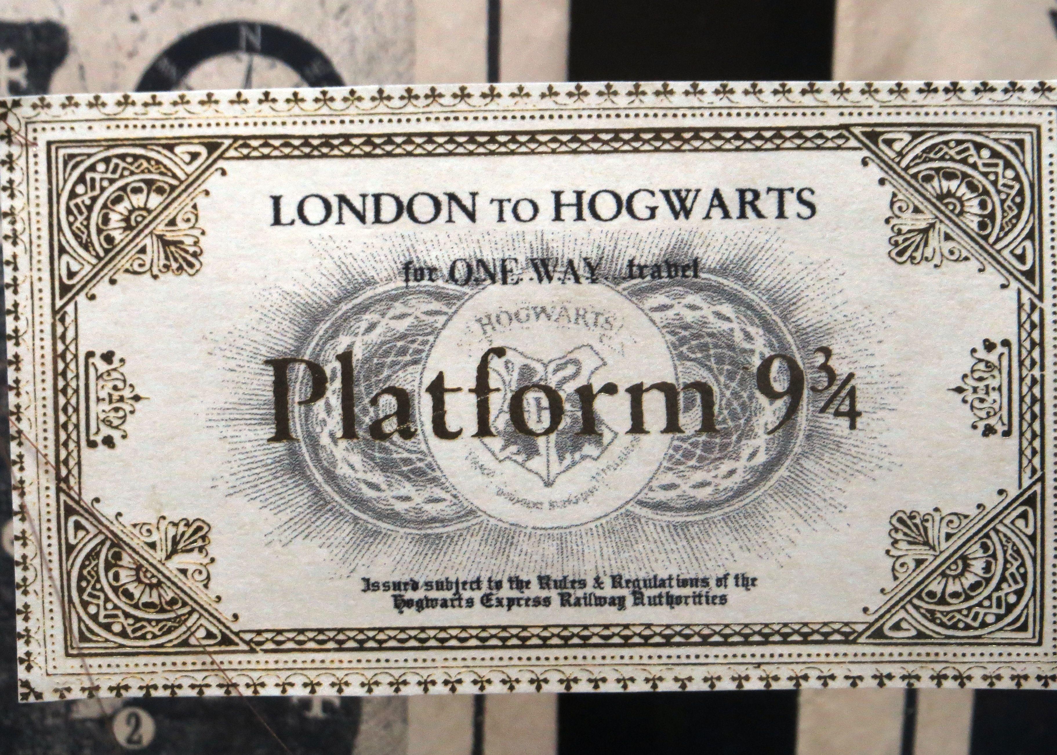 hogwarts express ticket - HD3646×2604