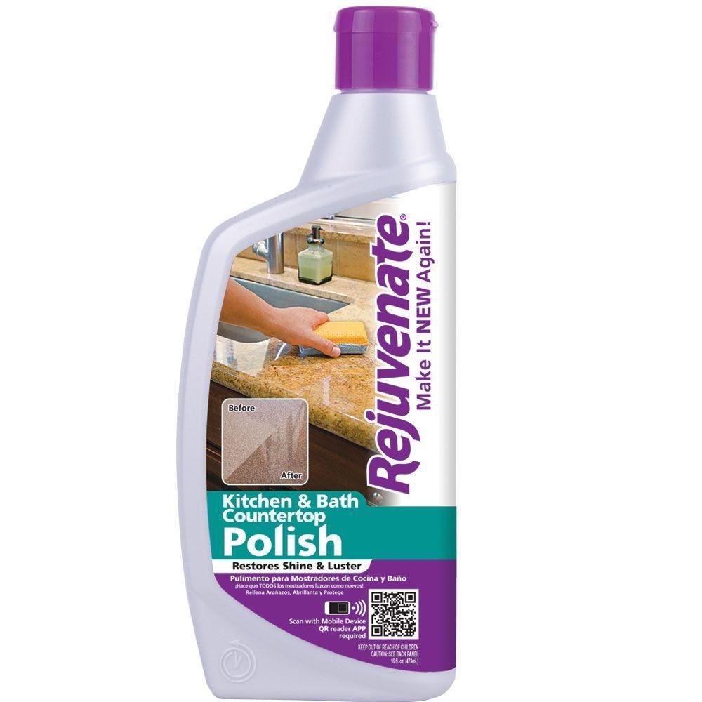 Rejuvenate 16 Oz Countertop Polish Rj16cp At The Home Depot