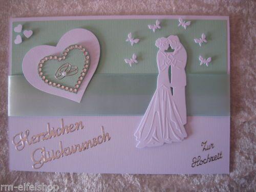 Glueckwunschkarte-Zur-Hochzeit-Brautpaar-Herz-Herzlichen-Glueckwunsch