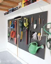 Wir wünschten, wir hätten diese genialen Pegboard-Ideen früher gesehen! – Wir wünschten, wir hätten diese …, #gardenga … gesehen