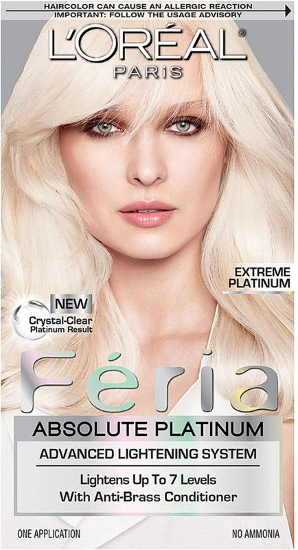 L Oreal Feria Absolute Platinum Ulta Beauty In 2021 At Home Hair Color Dyed Blonde Hair Colored Hair Tips