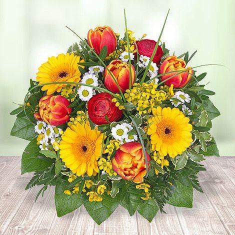 Das pure Leben - eingefangen in einem zauberhaften Strauß. #Valentins #Blumen #Geschenke #Deko