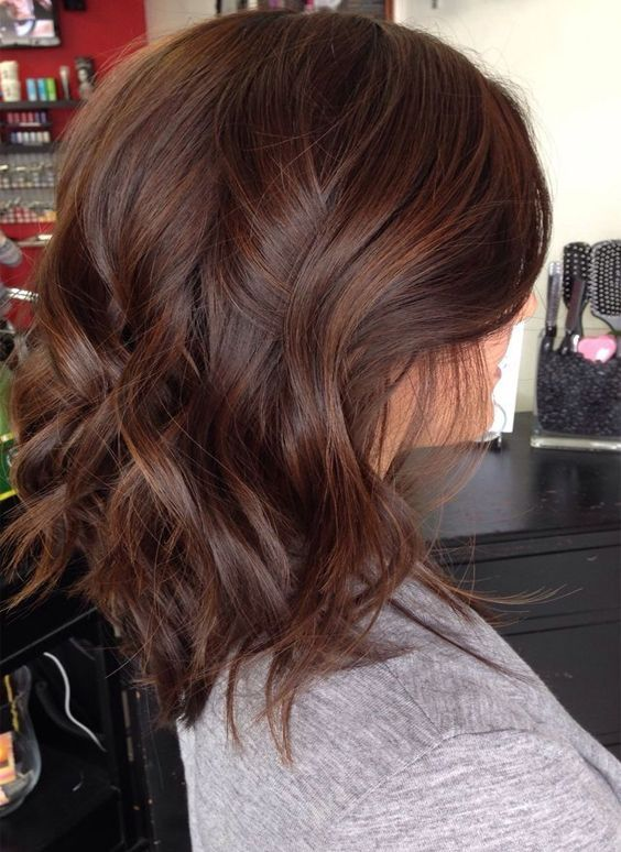 Brunette Balayage Color Ideas For Shoulder Length Hairstyles 2017