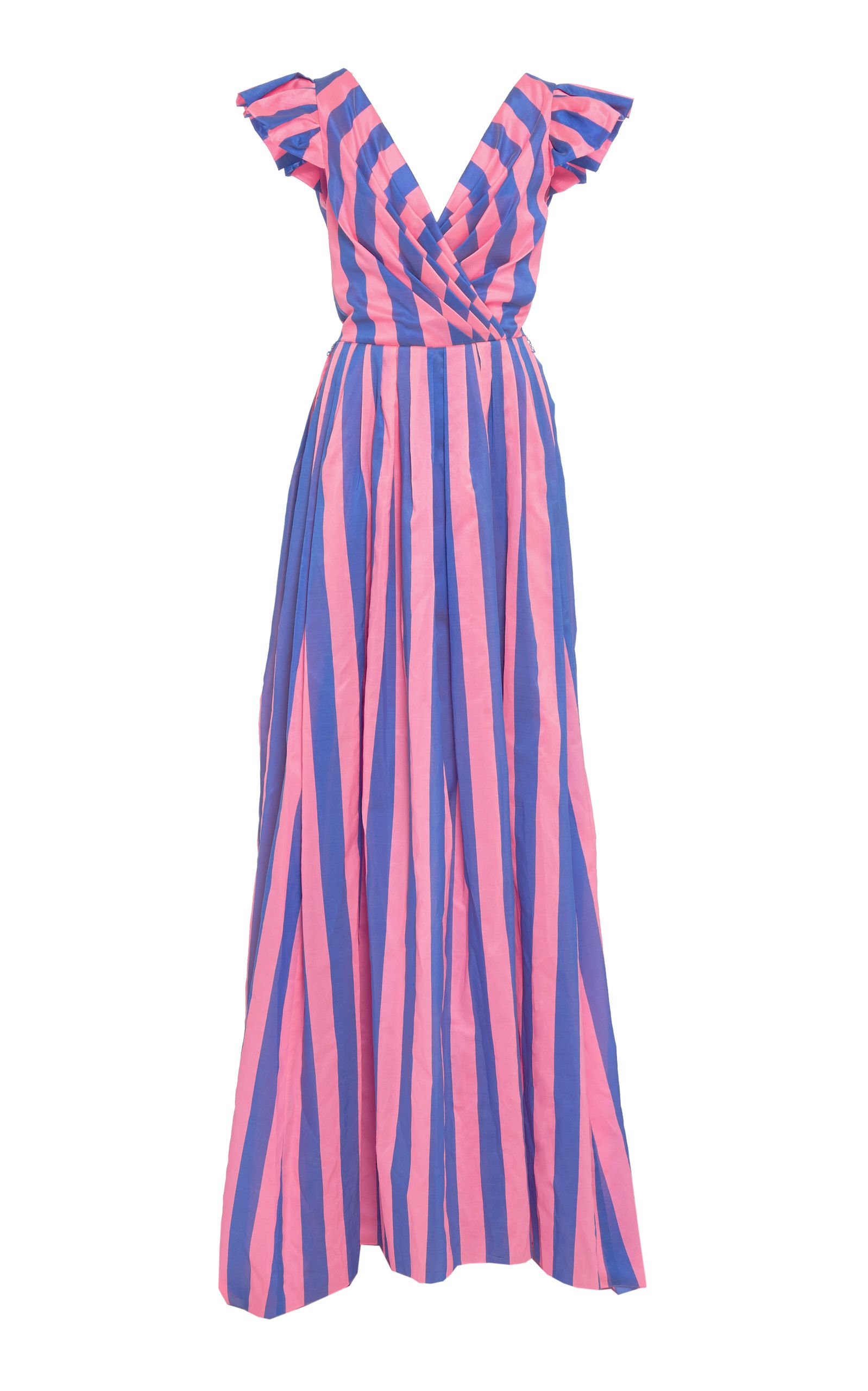 Asombroso Vestidos De Dama Tropicales Embellecimiento - Colección de ...