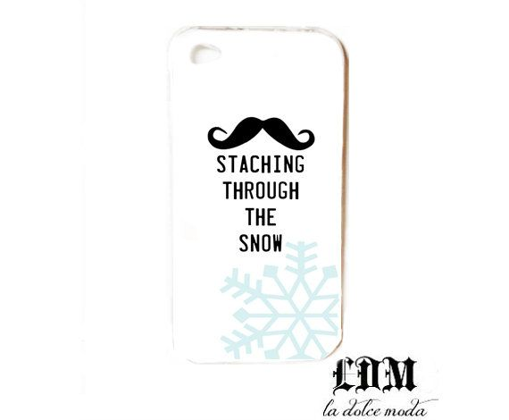 staching through the snow IPHONE CASE iPhone 4 by ladolcemoda, $13.99