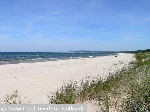 Polen Insel Wollin Baden Ohne Urlaub Swinemunde Strand Urlaub