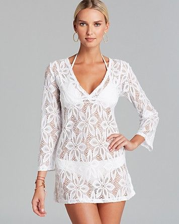 0365b5ab02eac J. Valdi Daisy Swim Cover Up Tunic