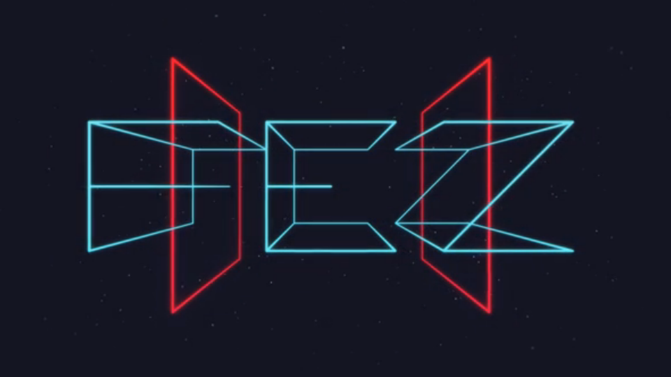 Great logotype for Fez 2. Too bad creator threw a hissy fit and cancelled development.