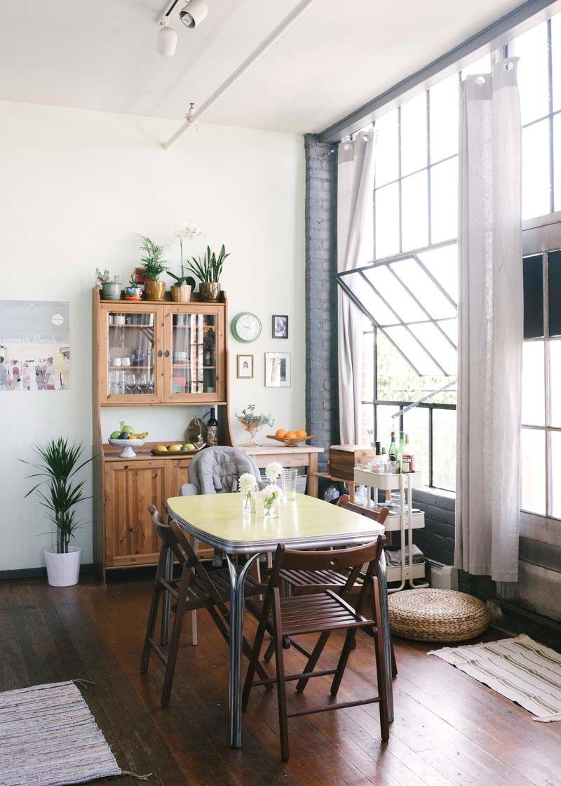 Loft de estilo industrial decoraci n con bajo presupuesto for Cocina industrial tipo loft