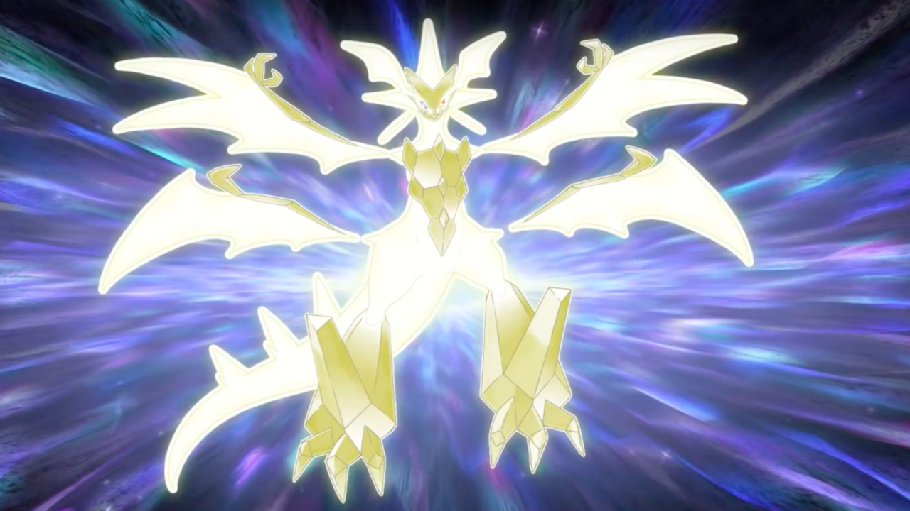 Pokemon Ultra Sun And Ultra Moon Official The Power Of Ultra Necrozma Revealed Trailer The Pokemon S Z Move Is Light That B Pokemon Moving Wallpapers Pokemon Z