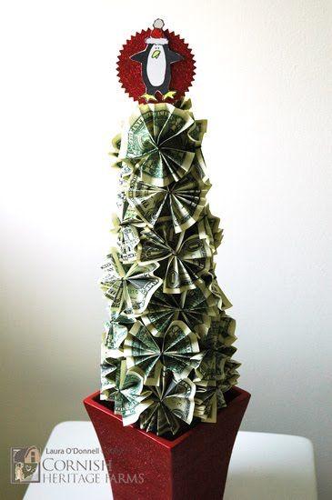 Itsallrosie Money Tree Christmas Money Creative Money Gifts Christmas Crafts