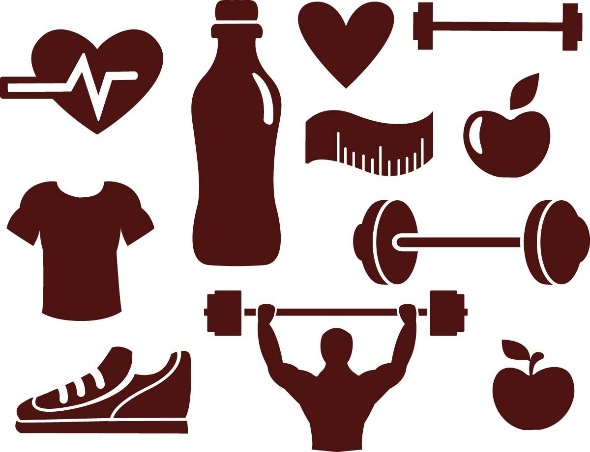 fitness sport elements vector vector free download rh pinterest com free download vector shapes for photoshop free download vector shapes for photoshop