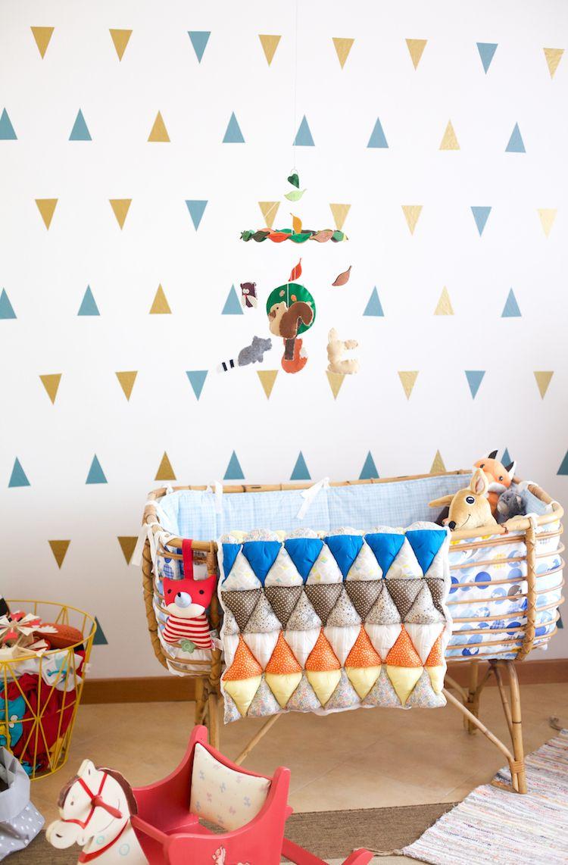 Idee De Papier Peint Pour Chambre Bebe Mixte At Home Pinterest
