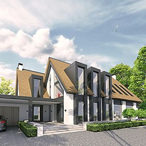 Pin van eugene scholten op huizen architectuur zweeds for Moderne villa architectuur