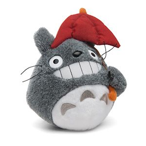 Little Totoro plush is ready to watch over you.  2e157e4fc76a