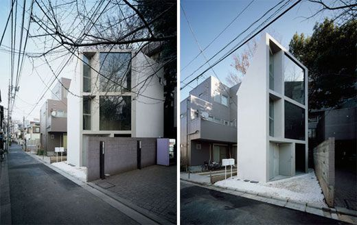 Tiny Home Designs: The Jewel Box Home: Japan's Micro Homes