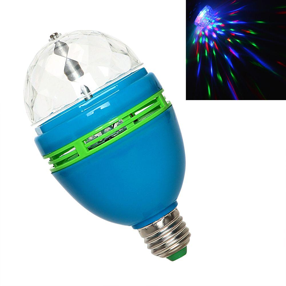 Itimo Colorful E27 Led Magic Ball Lamp Dj Club Disco Light Commercial Lighting Auto Rotating Stage Ligh Light Bulb Commercial Lighting Stage Lighting