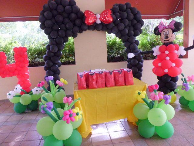 Cute Minnie mouse birthday