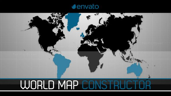 World map constructor infographics envato videohive buy world map constructor by lezygraph on videohive world map constructor is template created inside after effects the project supports and version of ae gumiabroncs Images