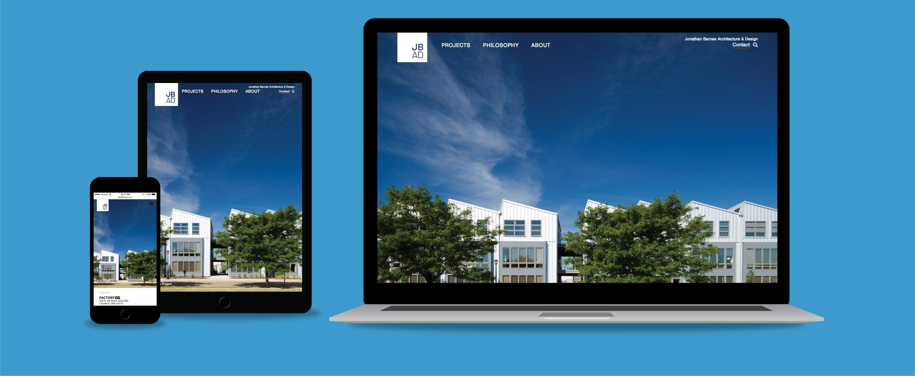 Jbad Website Website Design Design Development Website Redesign