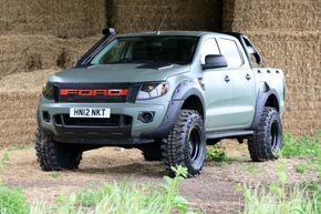Used Ford Raptor >> Used Ford Ranger Pick Up Double Cab Camo Seeker Raptor
