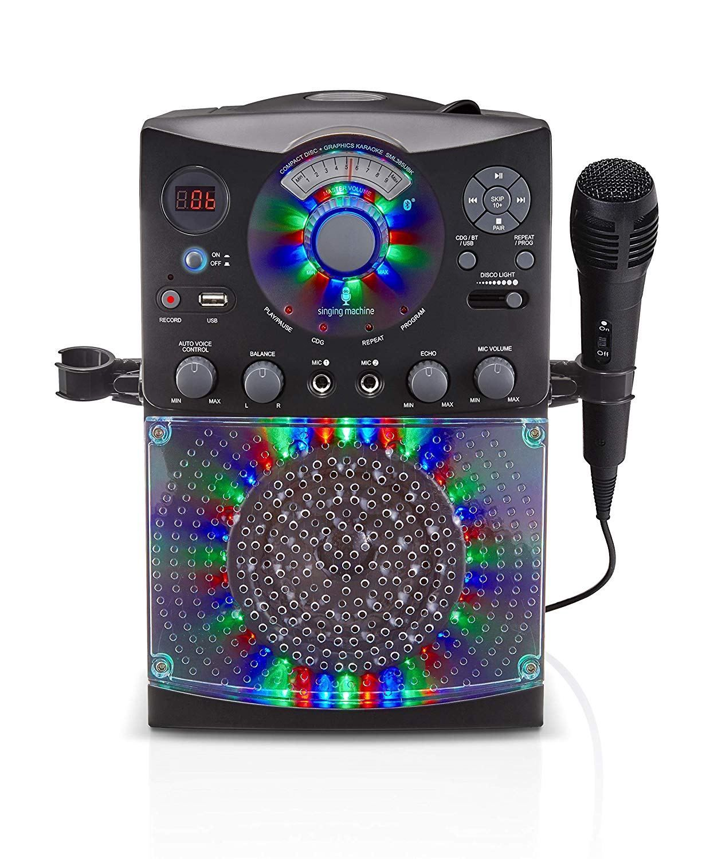 2018 holiday gift guide karaoke system led disco lights