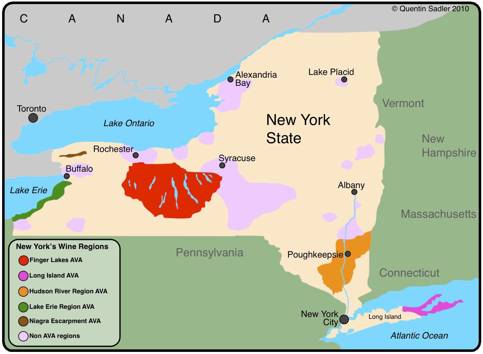 Map Of New York Wineries.New York State Wine Regions Seneca Falls New York Favorite