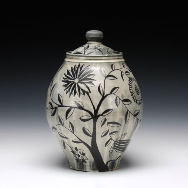 Matthew Metz Round Jar Pottery Jars Clay Pottery Sculpture Clay