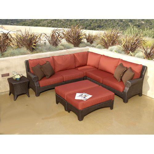 Sunset West Santa Barbara Sectional Sofa With Cushions. Get Wonderful  Discounts Up To 70% · Sunset WestOutdoor Wicker FurnitureModular ...