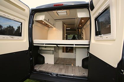 The Motorhome Awards 2015 High Top Van Conversion Of Year