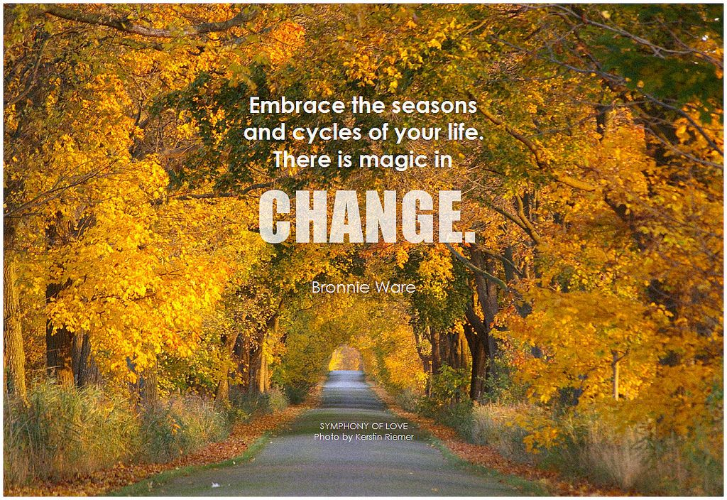Picture Quotes On Change Om Season Quotes Today Quotes Change Quotes
