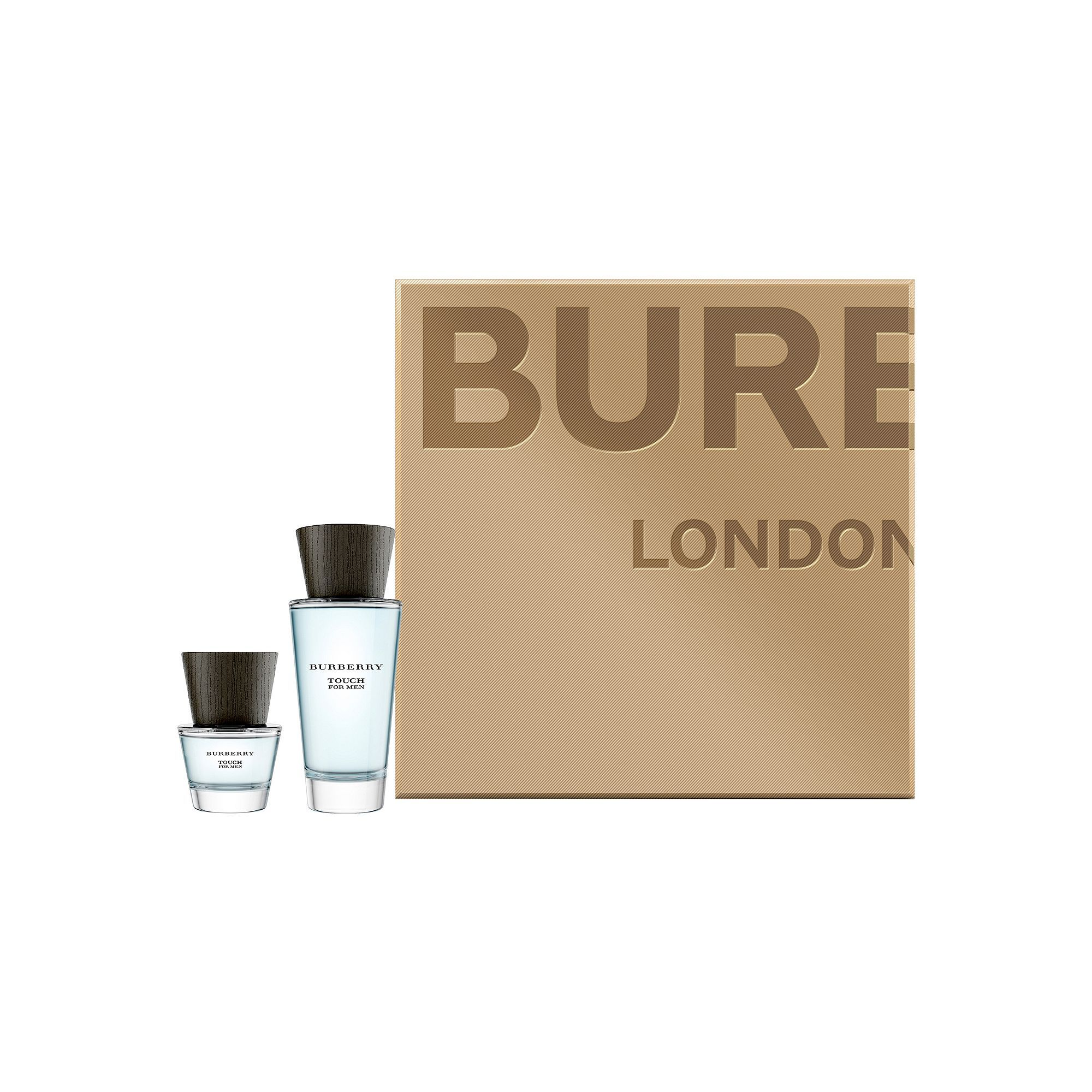 Modern and refreshing, this men's Burberry Touch cologne is ideal for any occasion. Modern and refreshing, this men's Burberry Touch cologne is ideal for any occasion. A $138 VALUE! FRAGRANCE NOTES Top: Mandarin, Violet Middle: Oak Moss, Orris, Pepper Base: Cedar, VetiverFRAGRANCE DETAILS Includes: 3.3 oz, Eau de Toilette Spray, 1.0 oz. Eau de Toilette Spray Due to its contents, this product cannot be shipped via our Priority Service or sent to Alaska, Hawaii, and/or APO/FPO military addresses.
