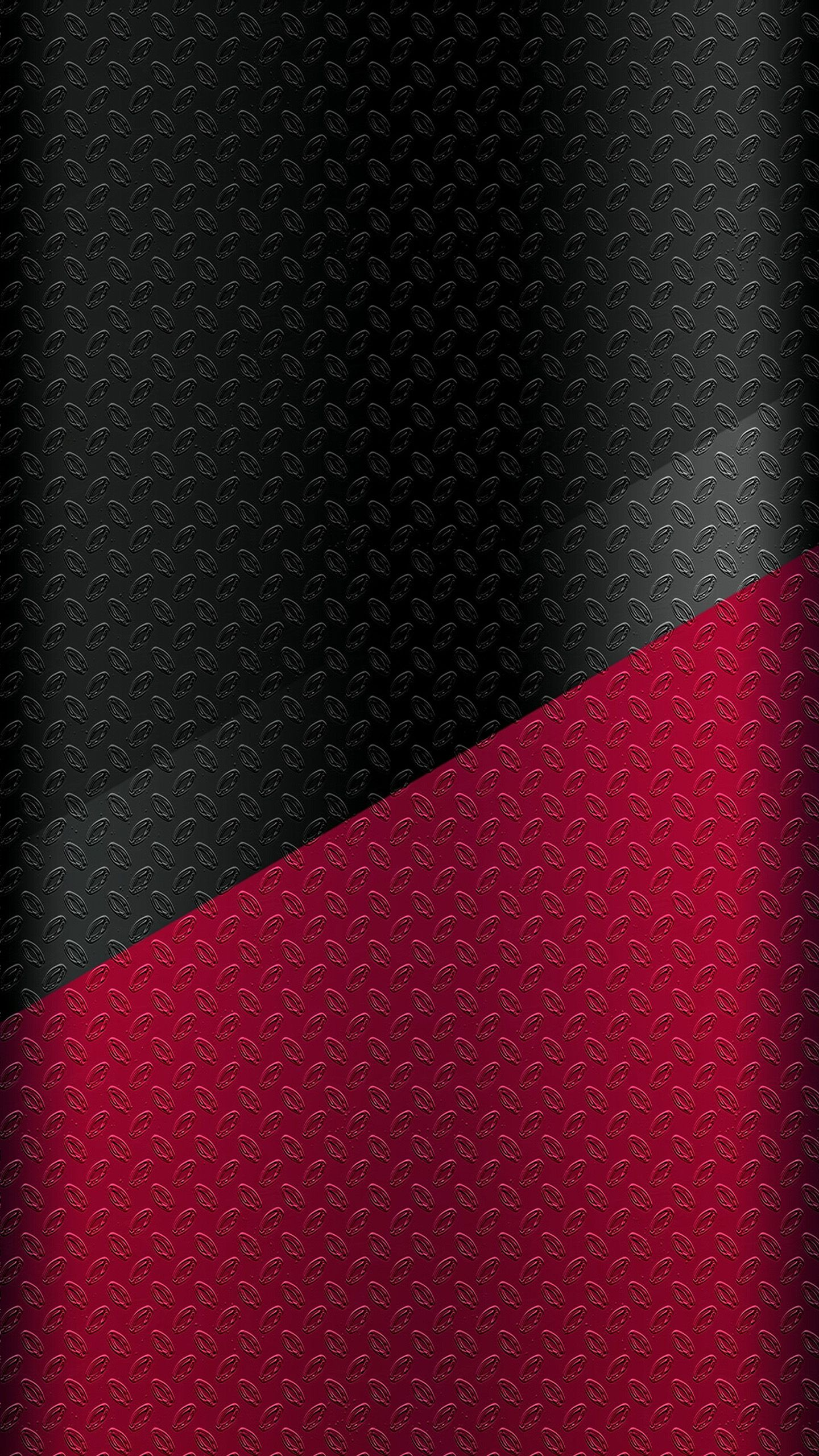 Dark S7 Edge Wallpaper 06 Black And Red Metal Texture