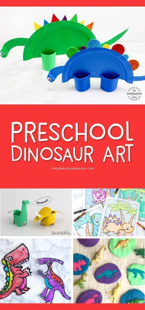 9 Preschool Dinosaur Art Projects For Home Or The ...