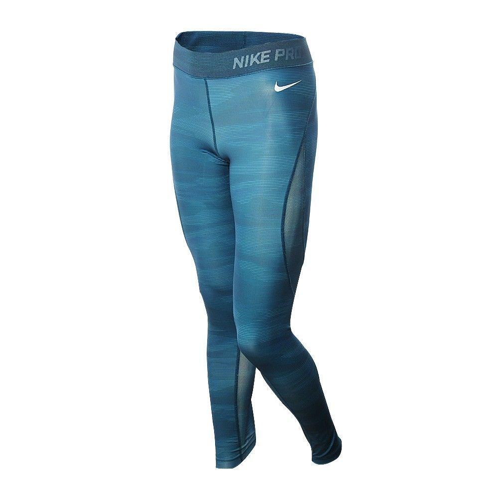 Nike Pro Women's Hypercool Training Tights Size XS Green Sportswear