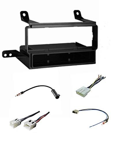 Premium Car Stereo Install Dash Kit  Wire Harness  And