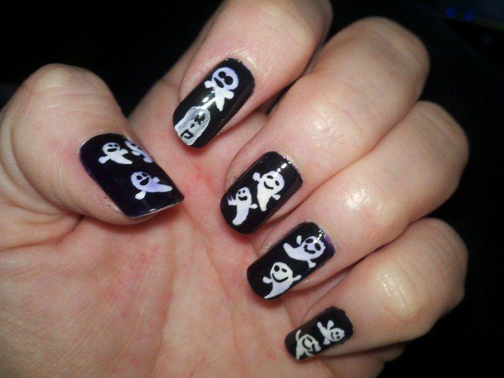 Diseño de uñas para Halloween: ¡Telarañas! | Makeup