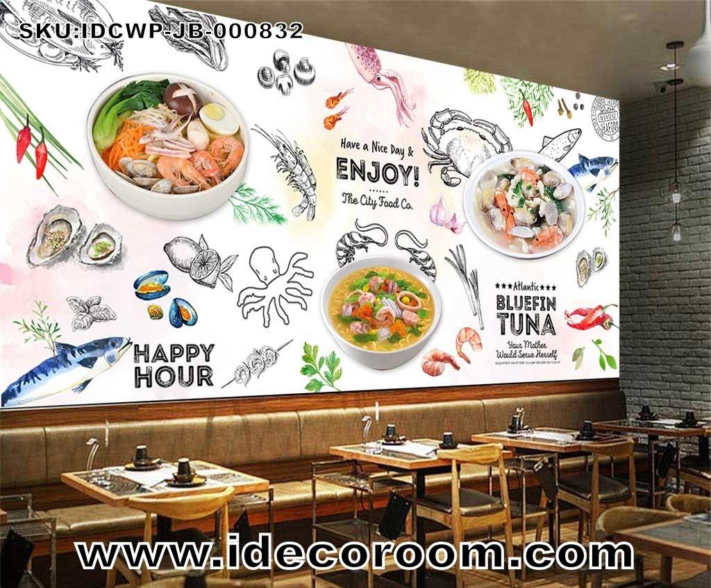 Custom size DIY living room wall murals Tapiz de pared