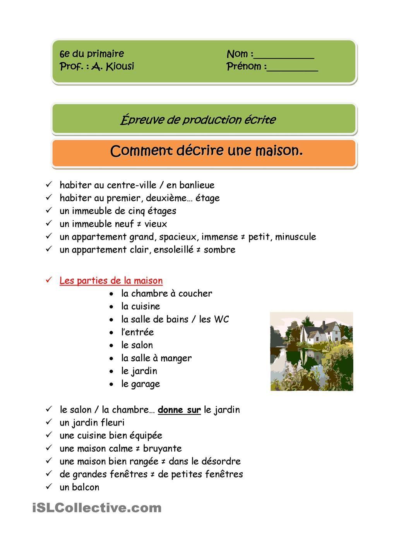 Opisywanie mieszkania - słownictwo 3 - Francuski przy kawie