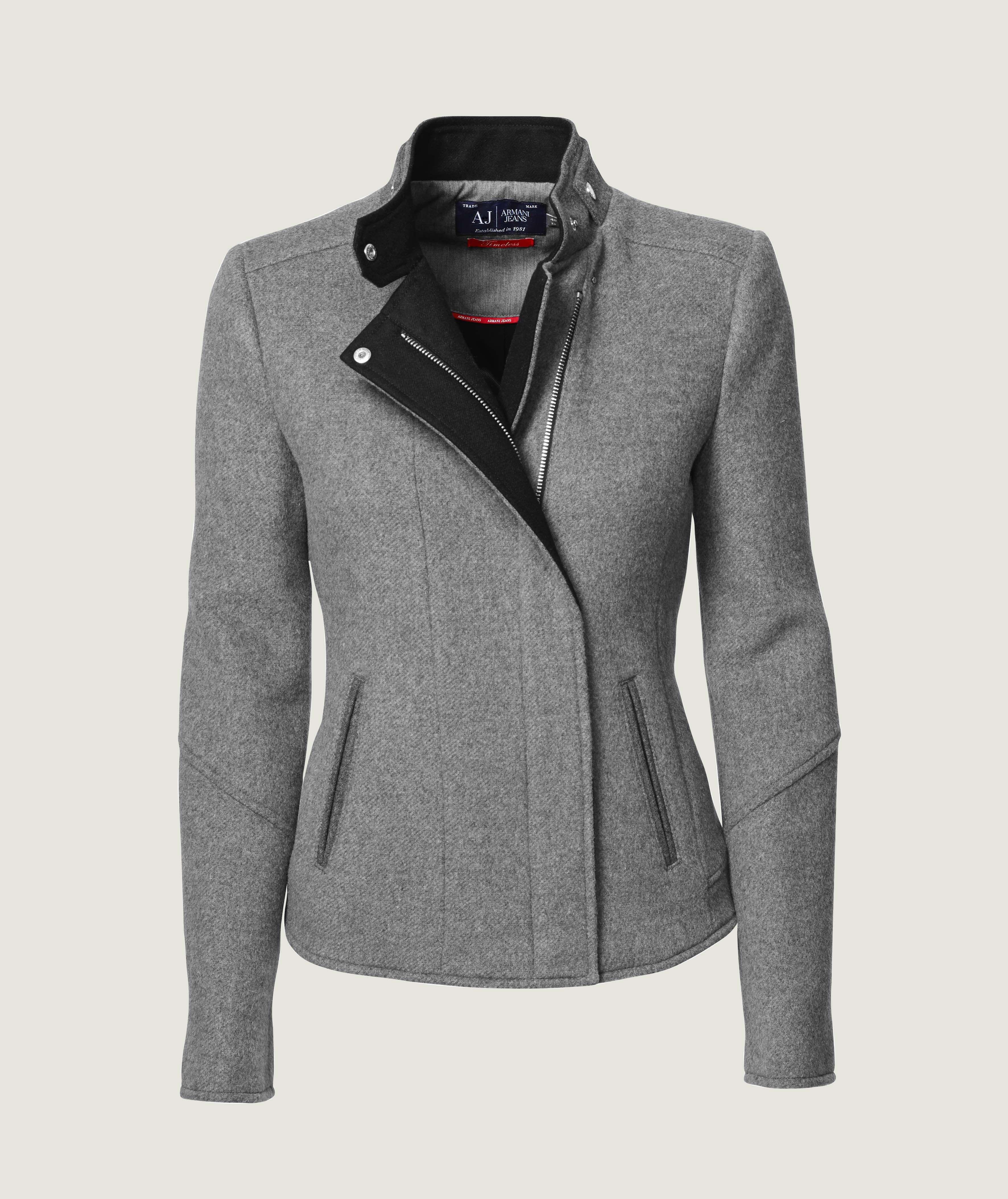 Troelstrup AW14. Armani Jeans jakke // Armani Jeans wool jacket