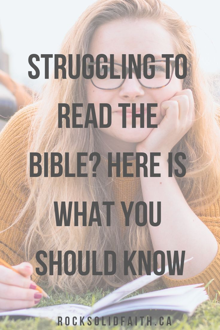How to study the bible for yourself and actually