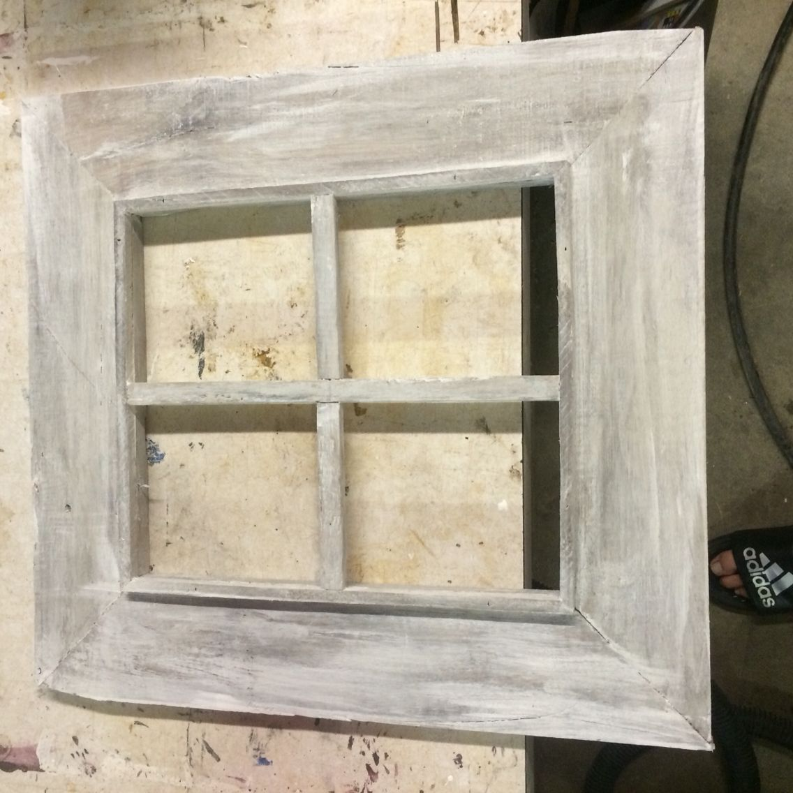 Picture frame from pallet wood | Things I have made out of pallet ...