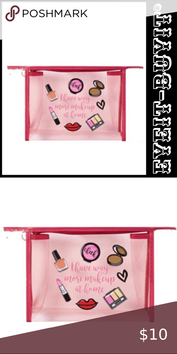 Ulta Beauty Bcrf Positively Pink Cosmetic Bag In 2020 Pink Cosmetics Ulta Beauty Makeup At Home