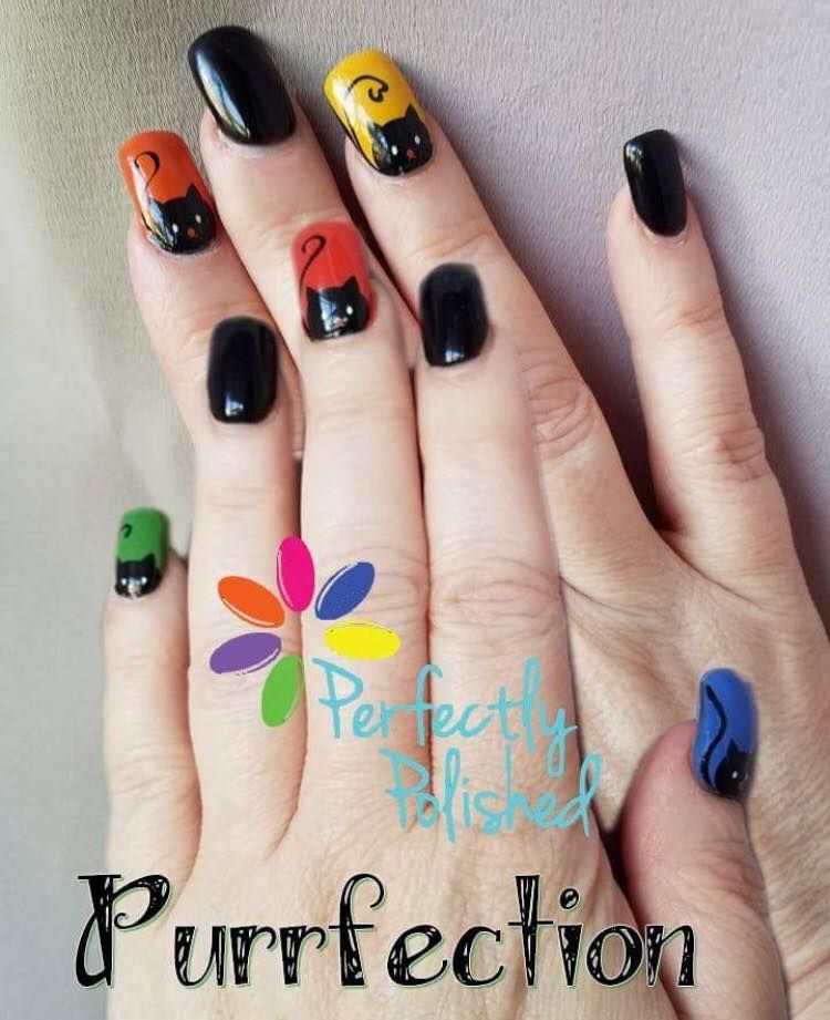 Perfectly Polished offers nail strips made with nail polish, not ...