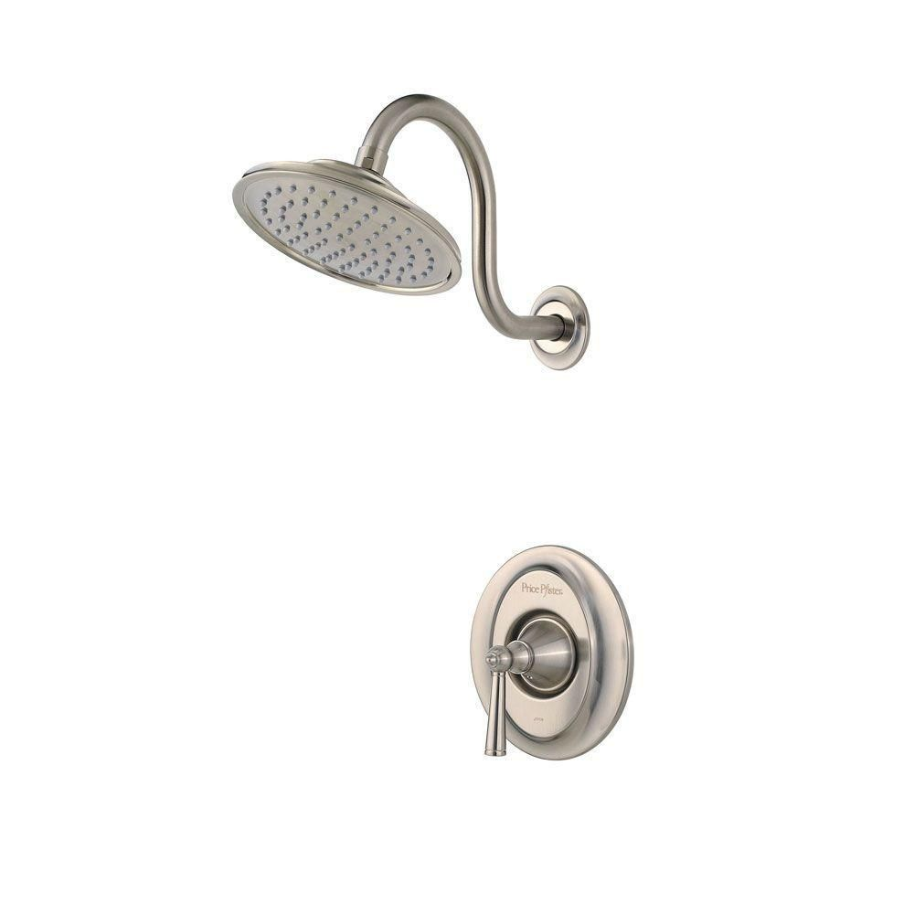 Pfister Saxton Single Handle Shower Faucet Trim Kit In Brushed