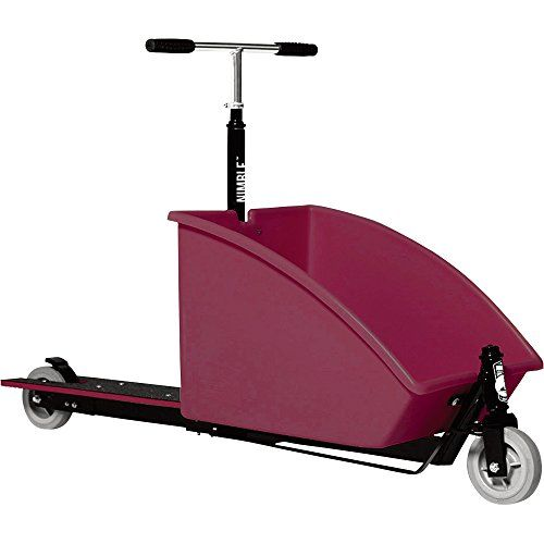 Nimble Cargo Scooter Plumblack Frame 300lb Capacity Visit The Image Link More Details