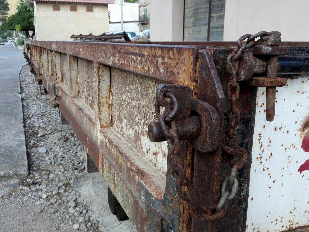 Vagoneta De Tren Abandonada Bunyola Mallorca El Paso Del Tiempo  # Mueble Vagoneta