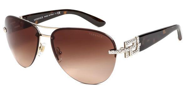 Versace VE2159B Bright Crystal 125213 Sunglasses