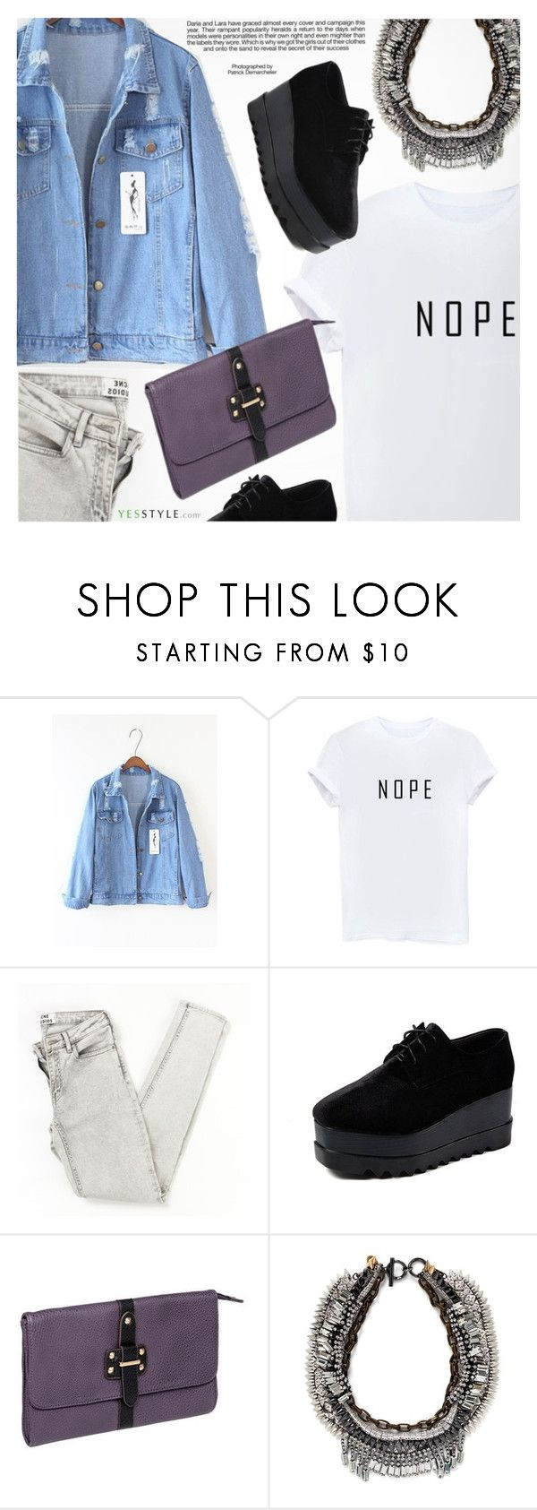 """""""YesStyle - 10% off coupon"""" by pokadoll ❤ liked on Polyvore featuring Industrie, Sienne, yeswalker, Venna, yesstyle and prespring"""